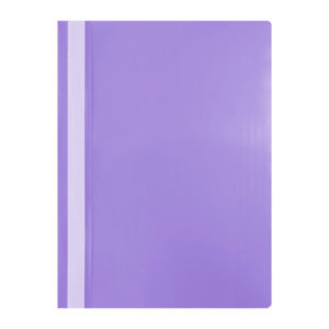 Папка-скоросшиватель пластик. «OfficeSpace», А4, 120мкм, арт.Fms16-7_11693, фиолетовая с прозрачным верхом (1/20/240) БЗ007601