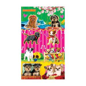 Наклейки «Собаки» на листе, 16 x 9.5 x 0.1 см. (1/20) БЗ007698
