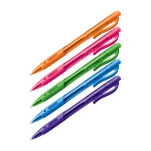 Ручка шариковая автоматическая «OfficeSpace» Знак!, арт. OBGP_21489, стержень синий, пишущий узел 0.7мм, ширина линии 0.5мм, тонированный эргономичный корпус (24/144/1728) БЗ007730