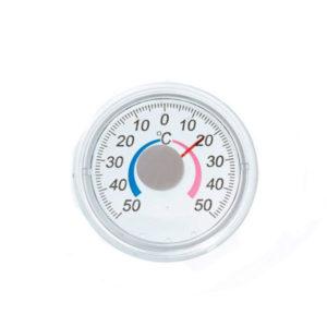 Термометр биметаллический, бытовой, уличный «Круг» мод.ТББ, пластик, пакет(1/50) БЗ007778