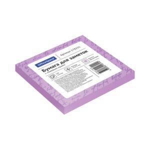 Самоклеящийся блок цвет фиолетовый 75х75 мм, «ArtSpace» 100 листов (1/12/186) БЗ007828