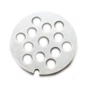 Решетка для мясорубки D53-7мм, арт.S-20, крупная, стальная,шнек(отверстие) круг,блистер (10/500) БЗ007906