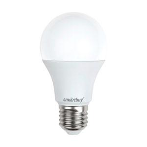 Лампа светодиодная A65 Smartbuy 20W/150Вт E27 6000К,холодный свет,композит 152х80мм (10/100) [SBL-A65-20-40K-E27] БЗ007949