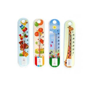 Термометр жидкостный, бытовой, комнатный «Беби», мод. П-2, пакет (1/100) БЗ008116