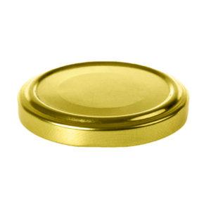 Крышка металлическая винтовая россыпью тип III-58 Твист-Офф, цвет Золото, 50шт. (50/320) БЗ008243
