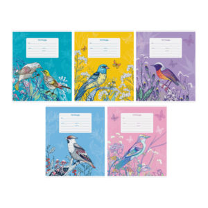 Тетрадь 12л. клетка «ArtSpace» Цветы. Birds flowers, арт.Т12к_17857 (1/20) БЗ008256