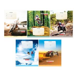 Тетрадь 12л. линия «ArtSpace» Спорт. Extreme lifestyle, ВД-лак, арт.Т12л_22920 (1/20) БЗ008257