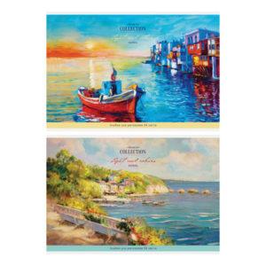 Альбом для рисования 24л. А4 «ArtSpace» Винтаж. Пейзажи, на скрепке арт.А24_26220 (1/7) БЗ008306