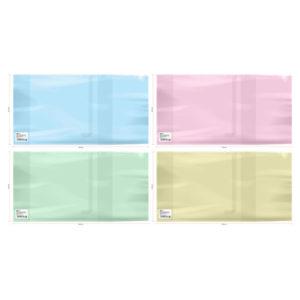 Обложка универсальная для дневников и тетрадей, ArtSpace, формат А5, с закладкой, цвет ассорти, 220×460мм. 200 мкм. (50) БЗ008312