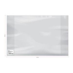 Обложка для учебников и тетрадей А4, контурных карт и атласов, ArtSpace, прозрачная, 292×442мм. 120 мкм. ПВХ (50) БЗ008315