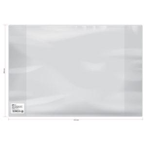 Обложка для учебников младших классов и рабочих тетрадей, ArtSpace, прозрачная, 286×415мм. 120 мкм. ПВХ (50) БЗ008316