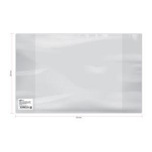 Обложка универсальная для дневников и учебников младших классов, ArtSpace, формат А5, прозрачная, 225×355мм. 120 мкм (50) БЗ008318
