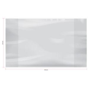 Обложка универсальная для дневников и тетрадей, ArtSpace, формат А5,  210×350мм, ПЭ 60 мкм. (50) БЗ008375