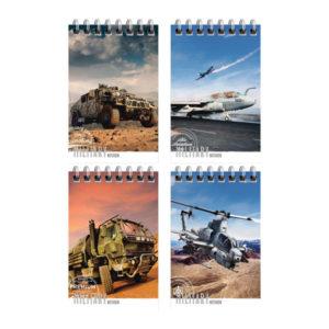Блокнот А7 40л. на гребне «Art Space» Техника. Military, арт. Б7к40гр_24238 (1/10) БЗ008409