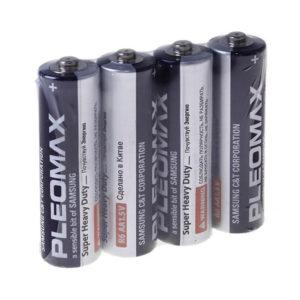 Батарейка Pleomax Samsung Super Heavy Duty R6/АА 4SW (60/600) БЗ008544