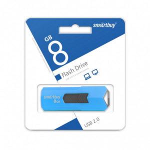 USB 2.0 флеш-накопитель 8Gb Smartbay Stream Series белая,выдвижная,58х19мм [SB8GBST-W] БЗ008625