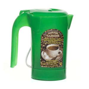 Чайник электрический пластиковый 0,5л «Мини чайник» мод.ЭЧ 0.5/0.5-220, 220Вт, цвет микс, 170х165х90мм (1/60) БЗ008656