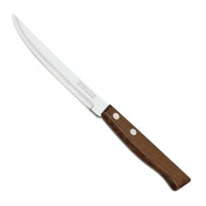 Нож кухонный деревянная рукоять 21.0см «Tramontina Tradicional DZ-3» арт.S5042, лезвие: прямое, зубчик мелкий, 207х115х1мм (12/60/600) БЗ008660