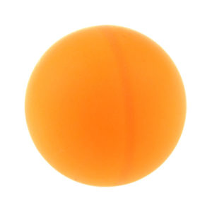 Мяч для настольного тенниса 40мм цвет: оранжевый по 150шт. «No name» арт.2856917, вес: 1.5гр. (1/40) Г0000959