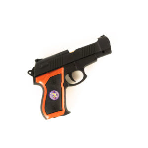 Пистолет пневматический (под пульки) 18.0см большой «BAOLE & TOYAVN» арт.P193 пластиковый, пульки в комплекте, пакет, 18.0х12х3.0см (1/288) Г0002153