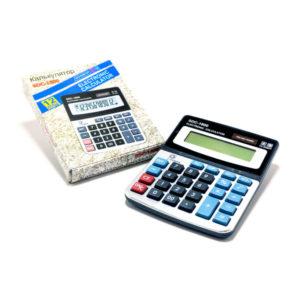 Калькулятор настольный средний SDC-1800, 12разрядный, 1хAG13, 13.7х11.0х2.3см (60/180) Г0002264