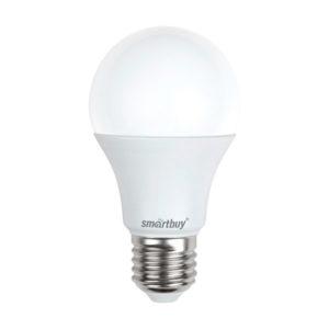 Лампа светодиодная A60 Smartbuy 15W/120Вт E27 6000К, 1450Lm, холодный дневной свет, 110х60мм (10/50) [SBL-A60-15-60K-E27] Г0002276