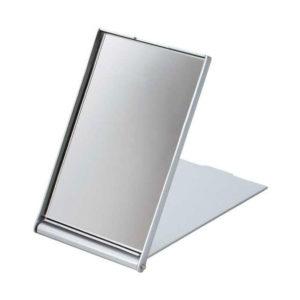Зеркало компактное складное 8.3см «Дипласт» арт.03, прямоугольное, пластик, цвет микс, 8.3х5.4х0.7см (10) [УII-3] О0000060