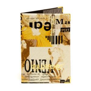 Обложка на паспорт ПВХ тиснение «Модный» арт.ОД5-16,  инд.упаковка (10/800) О0000082