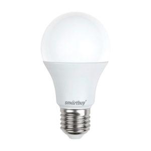Лампа светодиодная A60 Smartbuy 7W/60Вт E27 3000К, тёплый свет, 110х60мм (10/50) [SBL-A60-07-30K-E27-N] О0000224