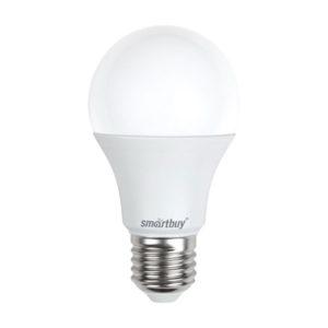 Лампа светодиодная A60 Smartbuy 11W/90Вт E27 3000К, теплый свет, 110х60мм (10/50) [SBL-A60-11-30K-E27-A] О0000226