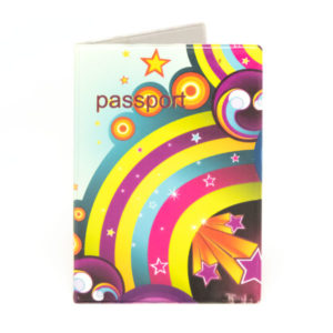 Обложка на паспорт ПВХ тиснение «Молодежный Эконом» 250мкм (10) О0000345