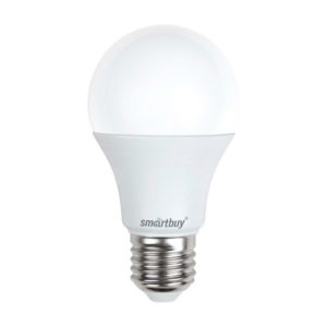Лампа светодиодная A60 Smartbuy 7W/60Вт E27 4000К, холодный свет, 110х60мм (10/50) [SBL-A60-07-40K-E27-N] О0000346