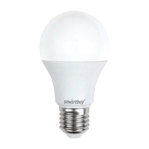 Лампа светодиодная A60 Smartbuy 13W/100Вт E27 4000К, 960Lm, холодный свет, 110х60мм (10/50) [SBL-A60-13-40K-E27-A] О0000349