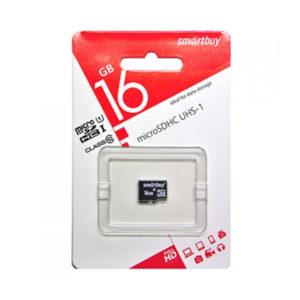 microSDHC 16Gb Class10 Карта памяти Smartbuy без адаптера [SB16GBSDCL10-00] О0000597