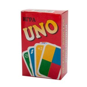 Карточные игра, средняя «UaNdO» (Уно) Сувенирная арт.0868, 9х5.8см (1/60) О0000868