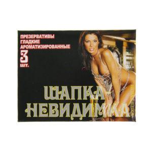 Презервативы гладкие ароматизированные «Неваляшка Шапка невидимка» (1блок=48упх3шт) цена за блок (1/30) О0001041