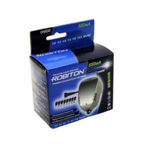 Блок питания Robiton DN500 AC/DC,3-12V,500mАh (15/30) О0001085