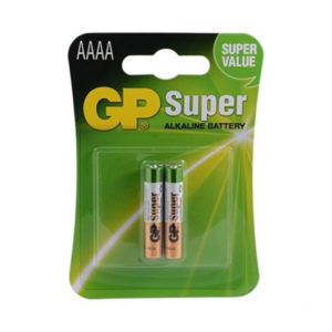 Батарейка GP Ultra Alkaline 25A LR8D425/АААА, 1.5V, BL2 (2/20) О0001088