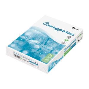 Бумага листовая для офисной техники «Снегурочка» А4, 80г/м2, 500листов, белая, 210х297мм, 1кор.=5упаковок (1/5) О0001183