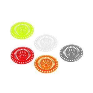 Фильтр для раковины пластиковый «Дипласт» арт. 1218, цвет: красный, белый, синий, 8х8х1.5см (50/500) О0001218