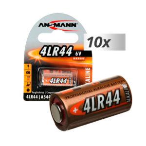 Батарейка Ansmann Alkaline 4LR44/476A/PX28A/V4034PX/A544/L1325 6V BL1 (10) О0001612