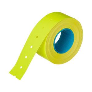 Этикет-лента МНК, прямоугольная 21.5х12мм, жёлтый «Linger» арт.101-104, 700 этикеток (10/270) О0001798