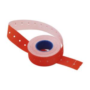 Этикет-лента МНК, прямоугольная 21.5х12 мм, красный «Linger» арт.101-105, 700 этикеток (10/270) О0001799