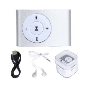 Цифровой MP3 аудио плеер AF-855C металл.,цвет микс,наушники,USB-mini кабель,пластиковый кейс  (1/200) О0001836
