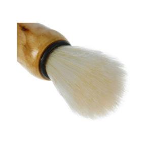 Помазок для бритья 9см «Kim» арт.S-2507, синтетический ворс, деревянная ручка, 9.5х3.4х3.4см (6/600) О0001853