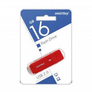 USB 2.0 флеш-накопитель 16Gb Smartbay Dock Series красная,колпачек,58х19мм [SB16GBDK-R] О0001950