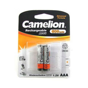 Аккумулятор Camelion R03/AAA 600mAh Ni-Mh BL2 (24/480) [NH-AAA600BP2] 00000008