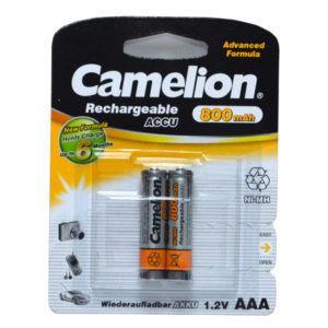 Аккумулятор Camelion R03/AAA 800mAh Ni-Mh BL2 (24/480) [NH-AAA800BP2] 00000009
