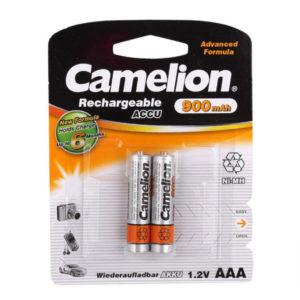 Аккумулятор Camelion R03/AAA 900mAh Ni-Mh BL2 (24/480) [NH-AAA900BP2] 00000010