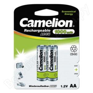 Аккумулятор Camelion R03/AAA 1000mAh Ni-Mh BL2 (24/480) [NH-AAA1000BP2] 00000011